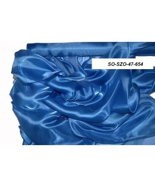saténová organza 47 cm parížska modrá