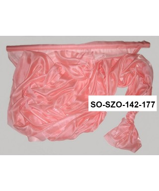 saténová organza 142 cm ružová