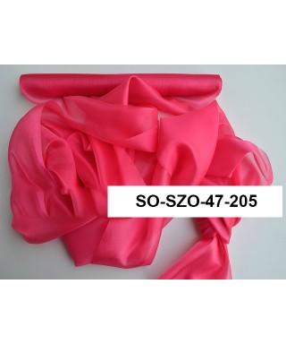 saténová organza 47 cm cyklámenová amarant
