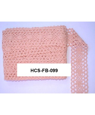 čipková stuha 4 cm ružová FB