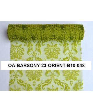 organza orient 23,5cm zelená